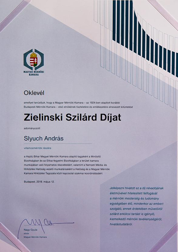 Zielinski-díj Slyuch